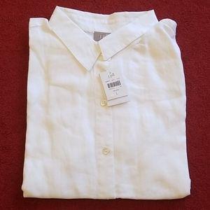 New white shirt by j.jill